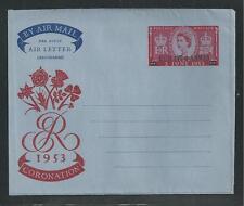 KUWAIT H&G # FG2 QUEEN ELIZABETH ll CORONATION Airmail Postal Stationery (3976)