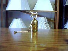 Lamp Part - Pull Chain Interior Socket and Socket Shell for Bridge Lamp
