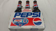 Nascar Richard Petty 1992 Fan Appreciation Tour 6 Pack Long Neck Pepsi Bottles