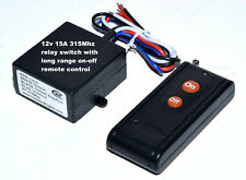 12V 15A LONG RANGE REMOTE CONTROL SWITCH RELAY WITH 12V OUTPUT RS101
