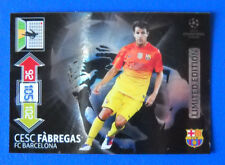CARD ADRENALYN CHAMPIONS LEAGUE 2012/13 - FABREGAS - BARCELONA - LIMITED EDITION