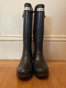 womens hunter rain boots size 9