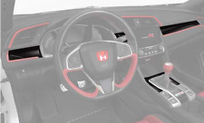 Genuine Honda Civic Type-R Carbon Fiber Interior Trim (Set of 6)