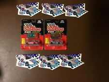 2- 1/64 SCALE NASCAR #43 CARS & STICKERS
