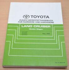 Toyota Land Cruiser UZJ FZJ HDJ 100 105 Fahrwerk Karosserie Werkstatthandbuch