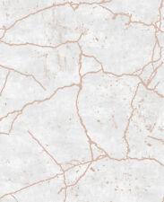 Vlies Tapete Beton Stein Kintsugi Optik beige grau rose gold metallic 104870