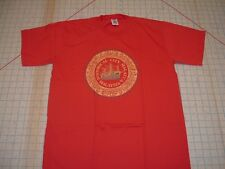 Historical City Malacca Malaysia SouthEast Asia ss red t-shirt SLIM MEDIUM Med
