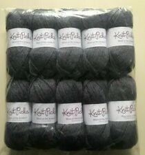 10 Skeins KNIT PICKS Wool of Andes Tweed Worsted Yarn Mineral Heather 1.75 Oz