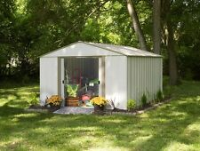 Arrow Oakbrook Shed 10x14 OB1014-C1 Storage Shelter Galvanized Steel