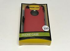 For Apple iPhone 6/6S Case Cover(Belt Clip fits Otterbox Defender series)Red