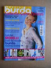 BURDA Special E531 Autunno Inverno 1999 con cartamodelli  [C60]