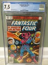 "Fantastic Four #210 CGC 7.5 ""Search for Galactus"" 1979 John Byrne Marvel Comics"