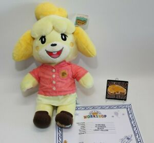 Build-A-Bear Animal Crossing New Horizons Isabelle Summer Gift w/ Phrases & Cert