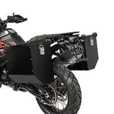 Alukoffer Set für Honda Africa Twin CRF 1000 L Seitenkoffer AT36 schwarz