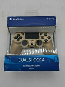 New Sony Playstation Dualshock 4 Wireless Controller(Gold) - AW0982
