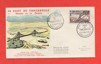 FDC 1959 - Le pont de TANCARVILLE   (229)