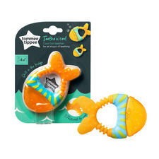 Tommee Tippee Chill & Teethe Cool Fish Baby Teether BPA Free 4 months +