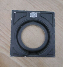 early Linhof Munchen  4x5   Lens board with 50.2mm hole  compur 2