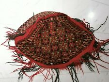 Mütze, antik, Turkmenistan, feinste Qualität! 40 x 30 cm