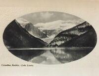Postcard, Rockies, Lake Louise, Glosso Series, Alberta Canada, Vintage P23