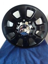 "18"" GMC DENALI SIERRA 2500 TRUCK HD 8 LUG X 180MM BLACK Set WHEELs RIM 2013 5501"