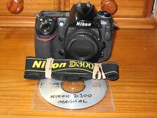 Nikon D D300 12.3MP Digital SLR Camera - Body only.
