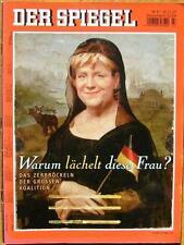 SPIEGEL 47/2007 Angela Merkel und das Zerbröckeln der Großen Koalition
