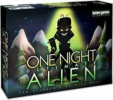One Night Ultimate Alien Family Party Game Bezier Games BEZONUA Mafia Halloween