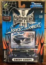JESSE JAMES  MUSCLE MACHINES CHEVY COUPE 1:64 SCALE