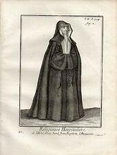 XVIIIe / RELIGIEUSE HOSPITALIERE de L'HOTEL DIEU St JEAN-BAPTISTE A BEAUVAIS