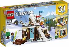 LEGO Creator 31080 Modular Winter Vacation 3in1 Set Mini Bobsleigh Track Playset