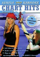 CHART HITS VOL 05 SUNFLY KARAOKE MULTIPLEX DVD - 12 TRACKS