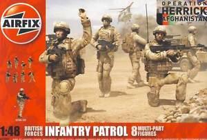 Airfix Infantry Patrol Troops Operation Herrick Afghanistan 1:48 British Forces