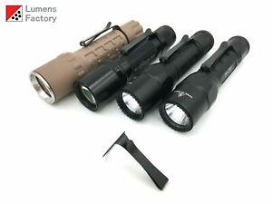 2 Way Clip for Surefire 1 Inch Lights, 6P 9P G2 G3 6PX G2X M3 M4 M3LT Z2 Z3 L5