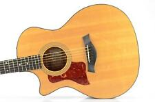 Taylor 314-CE Left Handed Acoustic Electric Guitar w/ Case Carlos Rios #33989