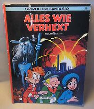 """Carlsen Verlag Comic Spirou und Fantasio Band 25 """" Alles wie verhext """""""