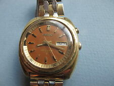 SEIKO VINTAGE BELLMATIC WITH COFFIN LINK BAND NO RESERVE