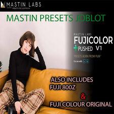 MASTIN LABS presets Adobe lightroom FUJI color ORIGINAL PUSHED 800Z joblot photo