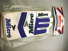 Vintage Mitre Goal Keeper Gloves Size 9
