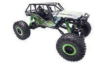 RC Auto Crazy Green 4x4 Allrad RTR 1:10 Rock Crawler Monstertruck Offroad 2.4GHz