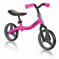 Globber GO BIKE Adjustable Balance Training Bike for Toddlers, Pink & Black