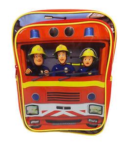 Fireman Sam Jupiter Backpack School Bag Pre-school Rucksack