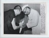 Tibet, 1959 New Delhi India refugees rare photo rajendra prasad Dalai Lama