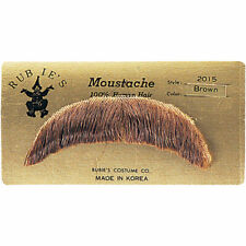 HUMAN HAIR  BASIC CHARACTER MOUSTACHE COSTUME ACCESSORY