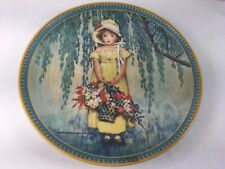 1986 Knowles 1st J W Smith Childhood Series Collector Plate Easter Limited Ed