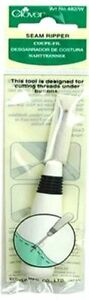 SEAM RIPPER~WHITE~CLOVER PART #CL482WA~SEWING~SEWING TOOLS~FAST SHIPPING!!