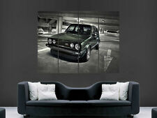 VW GOLF MK1 VOLKSWAGEN CAR   HUGE LARGE WALL ART POSTER PICTURE