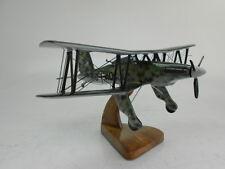 Fi-167 Fieseler Torpedo Bomber Airplane Wood Model Replica Small Free Shipping