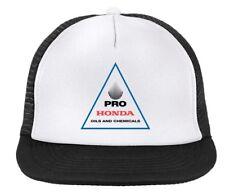 HONDA OILS motocross cap, Supercross MX trucker hat , snapback black