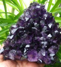 F2440 Deamlike Natural Amethyst / Purple Quartz Crystal Cluster specimen 1222g